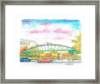 Walt Disney Studios In Burbank, California Framed Print
