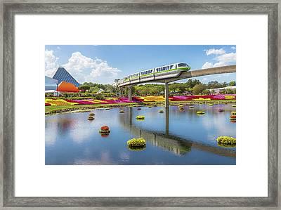 Walt Disney World Epcot Flower Festival Framed Print