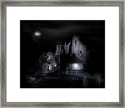 Walt Disney World's Haunted Mansion Framed Print by Mark Andrew Thomas