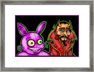 Walter And Walter Framed Print by Christopher Capozzi