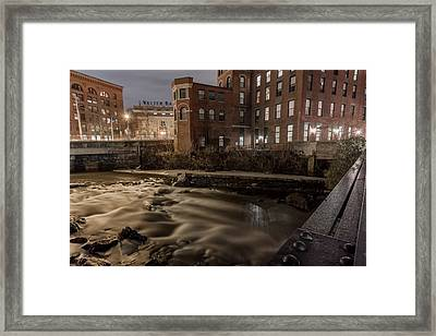 Walter Baker Chocolate Factory Framed Print