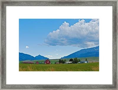 Walter Brennan Rockin Ok Ranch Framed Print