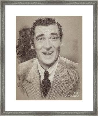 Walter Pidgeon, Actor Framed Print by Frank Falcon