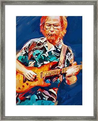 Uncle Walter Framed Print by Scott Waters