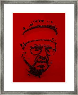 Walter Sobchak Nailed Red  Framed Print by Rob Hans