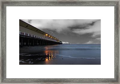 Walton Pier Framed Print