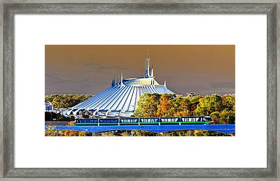 Walts Modern Vision Framed Print by David Lee Thompson