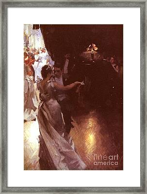Waltz Framed Print by MotionAge Designs