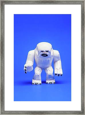 Wampa Framed Print by Samuel Whitton