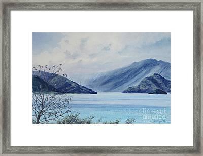 Wanaka Lake Framed Print