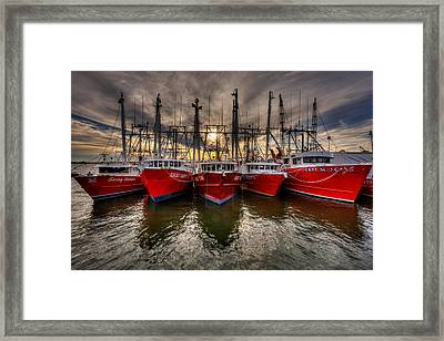 Wanchese Fish Company Framed Print