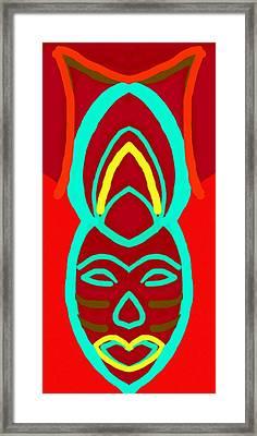 Wand Wing Framed Print by Babatunde Kayode