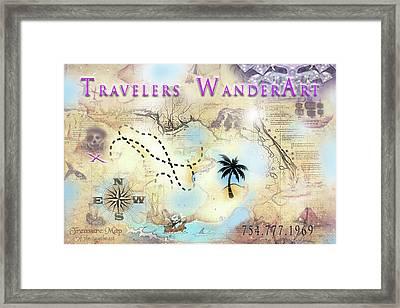Wanderart Framed Print