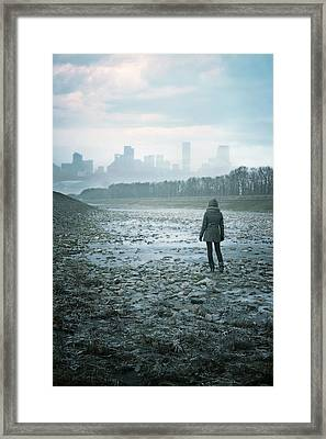 Wanderer Framed Print by Cambion Art