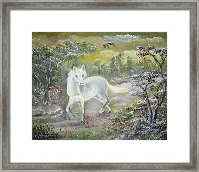Wandering Alone Framed Print by M Bhatt