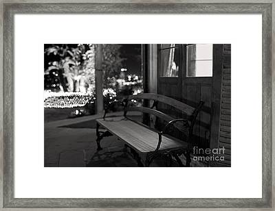 Framed Print featuring the photograph Wandering Around The Night by Aiolos Greek Collections