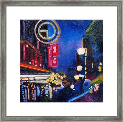 Wandering At Dusk Framed Print by Patricia Arroyo