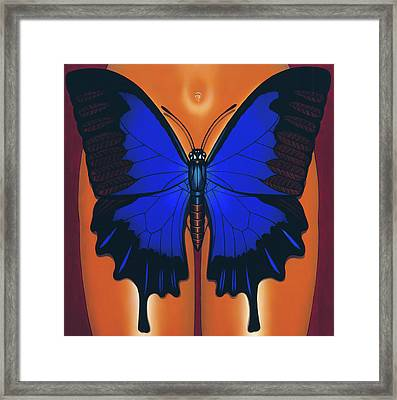 Wandering Dream 2 Framed Print