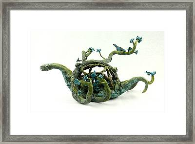 Wandering Protector Of Life Framed Print by Przemyslaw Stanuch