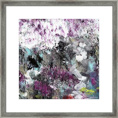 Wanderlust- Abstract Art By Linda Woods Framed Print