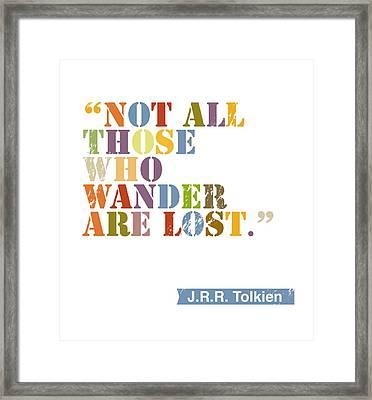 Wanderlust Framed Print by Cindy Greenbean