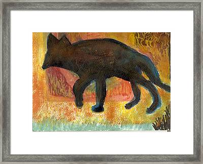 Wanderlust II Framed Print by Anne-Elizabeth Whiteway