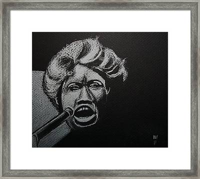 Wang Dang Doodle Framed Print by Nick Young