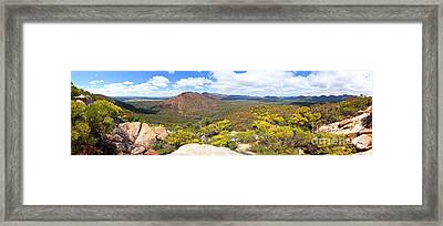 Wangara Hill Flinders Ranges South Australia Framed Print by Bill Robinson