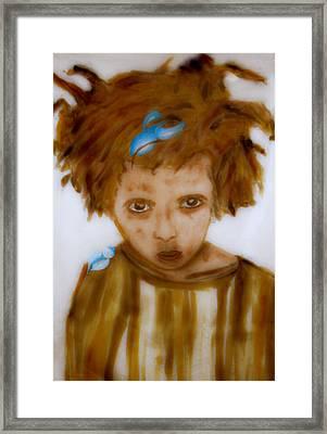 Wanna Be Back Home Framed Print by Rosemen Elsayad