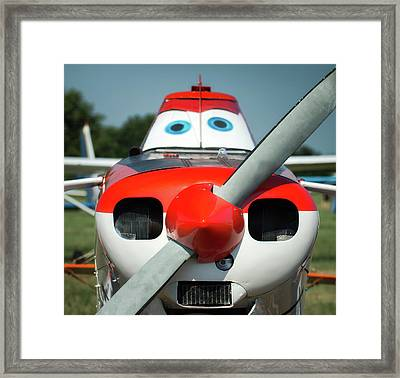 Framed Print featuring the photograph Wanna Fly? by James Barber