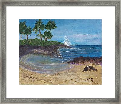 Framed Print featuring the painting Wanna Go by Margaret Bobb
