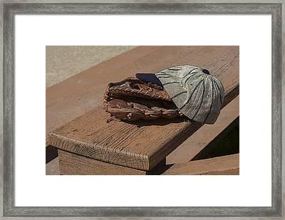 Wanna Have A Catch? Framed Print by Greg Thiemeyer