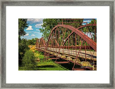 War Bridge Framed Print by Jon Burch Photography