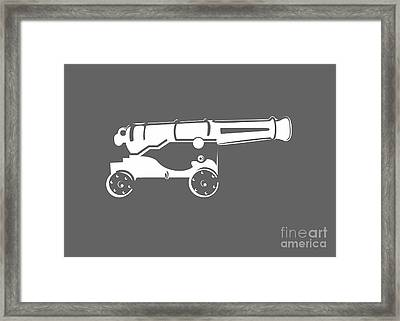 War Cannon Framed Print by Frederick Holiday
