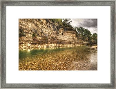 War Eagle Bluff Framed Print