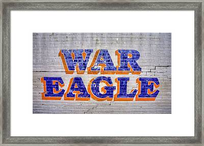 War Eagle Framed Print by JC Findley