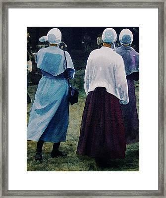 War Eagle Ladies Framed Print by Tom Herrin