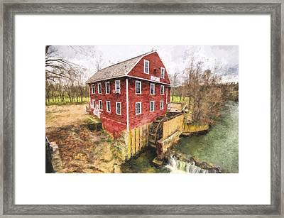 War Eagle Mill Framed Print
