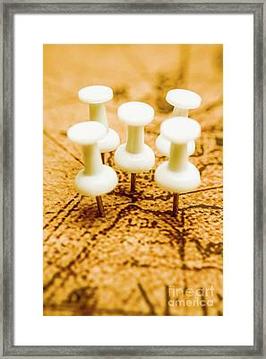 War Game Tactics Framed Print