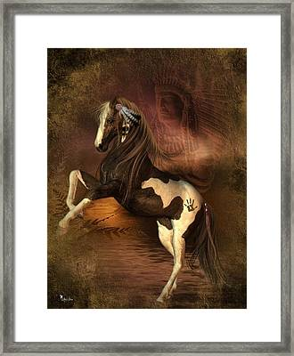 War Horse 2 Framed Print