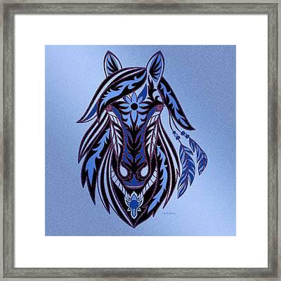 War Horse 3 Framed Print