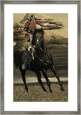 War Horse Framed Print by Ron Lesser