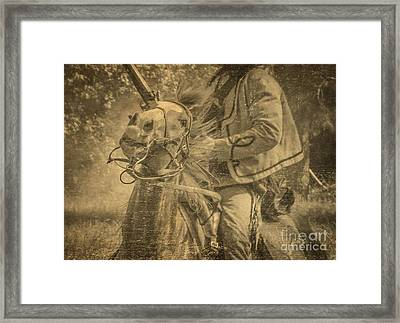 War Horse2 Framed Print