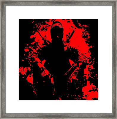War Is Hell 2 Framed Print