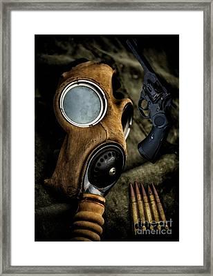 War Memorabilia Framed Print by Adrian Evans