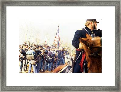 War Framed Print by Michael Morrison
