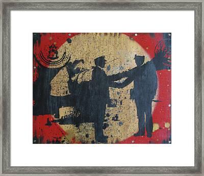 War Mongers Framed Print