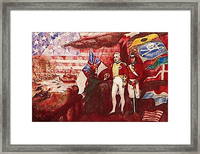 War Of 1812 Framed Print by Dean Gleisberg