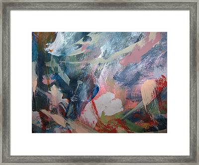 War Of The Relentless  Mind Framed Print by Paula Andrea Pyle