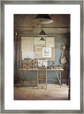 War Office Framed Print by Terri Waters
